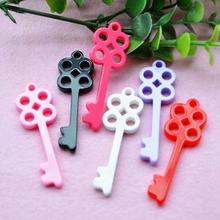 Buy Resin Crafts Diy Decoration 30pcs 54*19mm Hot Kawaii Flat Back Resin Cabochons Key for $1.29 in AliExpress store