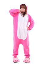 Animal Costume Cosplay Adult Pyjamas JP Animal pink blue yellow Dinosaur violent bear unicorn  dragon owl Pajamas free shipping(China (Mainland))