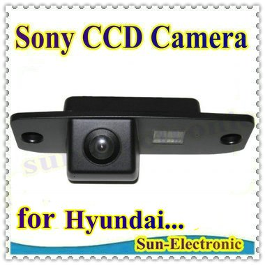 SONY CCD Chip Car Rear View Reverse Parking CAMERA for Hyundai Elantra Terracan Tucson Accent Kia Sportage R 2011(China (Mainland))