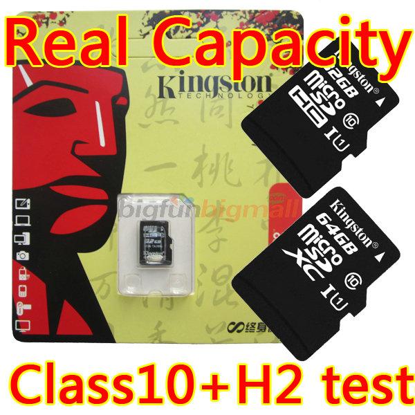 New Kingston TF Card Micro Sd Card 16GB 32GB 64GB 128GB Class 10 Memory Card Microsd Flash Card Cartao De Memoria 64GB 32 Gb(China (Mainland))