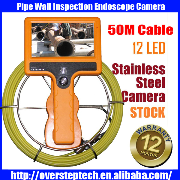 crawler pipe inspection drain pipe inspection camera,,pipe and wall inspection camera 50M<br><br>Aliexpress