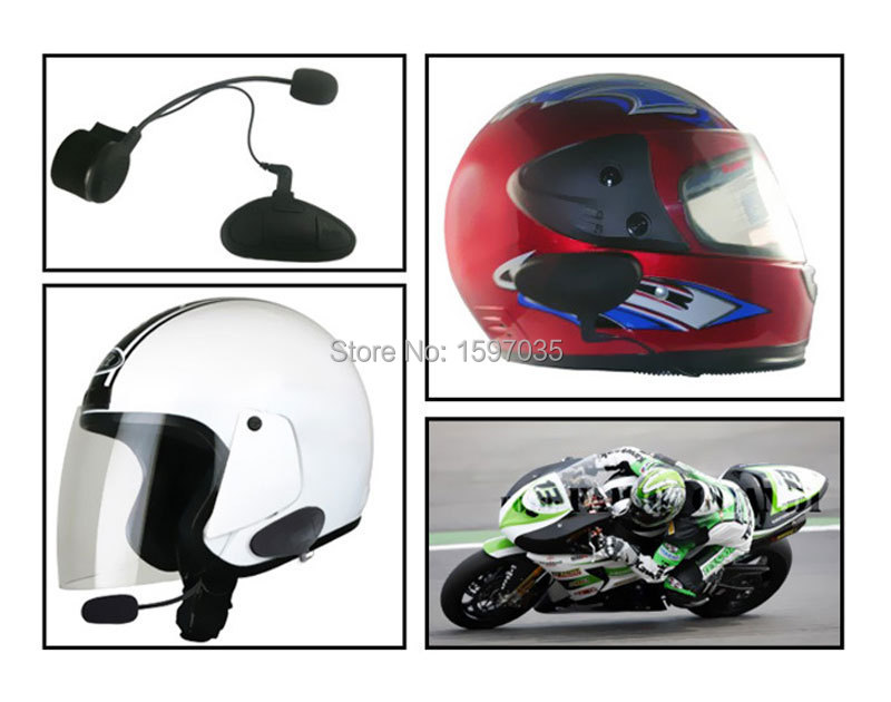 High quality Updated 2014 1PCS Motorcycle Helmet Bluetooth Intercom Headset M1 Connects upto 3 riders FREE SHIPPING!!(China (Mainland))