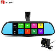 Junsun 7″ Touch Screen Car Mirror inc DVR GPS Bluetooth Android 4.4