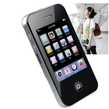wholesale new 2.8 32GB Touch Screen I9 4G Style Mp3 Mp4 MP5 Player Camera Game free ship