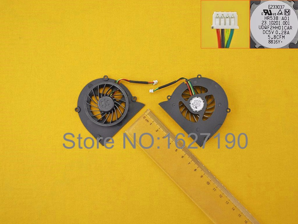 Brand NEW Laptop CPU Cooling Fan Replcaement for DELL XPS M1330 GC055510VH-A B2969 UDQF2HH01CAR CPU Cooler/Radiator(China (Mainland))