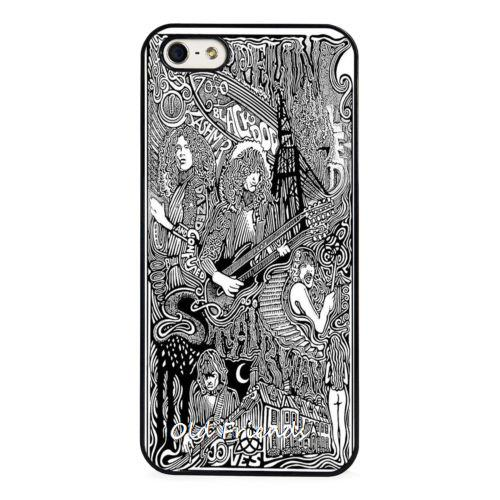 Led Zepplin Rock Band Art Phone Case Cover for iphone 4 5s 5c SE 6 6s 6plus 6splus Samsung galaxy s3 s4 s5 s6 s7 edge(China (Mainland))