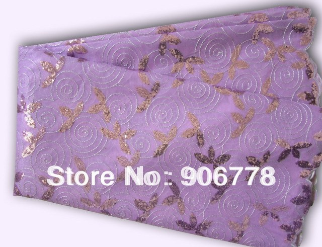 FREE SHIPPING african voile lace,high quality organza lace,lilac color african lace,limited edition fashin style,french lace