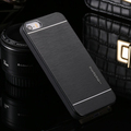 Brushed Aluminum Metal Armor Case for iPhone 5 5S SE Fashion Brush Hard Back Cover Protective
