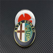4 Specials sale 2016 new 74mm 7.4cm ALFA ROMEO Car Logo emblem Badge sticker Mito 147 156 159 166 - Carbeer Co Ltd Store store