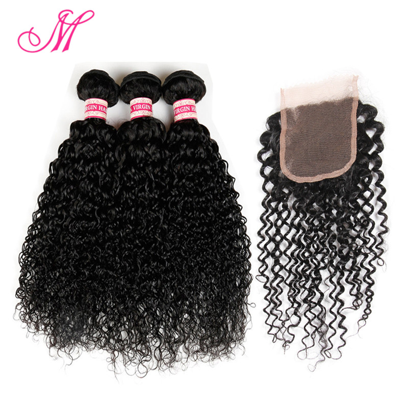 Malaysian Curly Hair With Closure 8a Grade Virgin Unprocessed Human Hair With Closure Ms Lula Malaysian Virgin Hair With Closure<br><br>Aliexpress