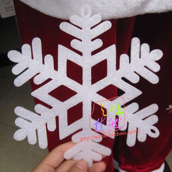 Small Foam Snowflakes Foam Snowflake Sticker