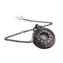 Steampunk Roman Pattern Quartz Pocket Watch