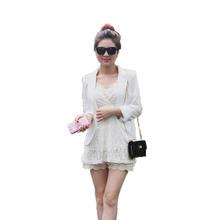 AliExpress |Moda chaqueta mujer traje plegable largo mangas largas solapa abrigo forrado con rayas botón único Vogue chaquetas XL