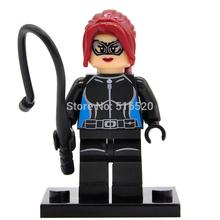 Catwoman Minifigures Building Blocks DC Batman Super Heroes Sets Models Mini Figures Bricks Toys For Children