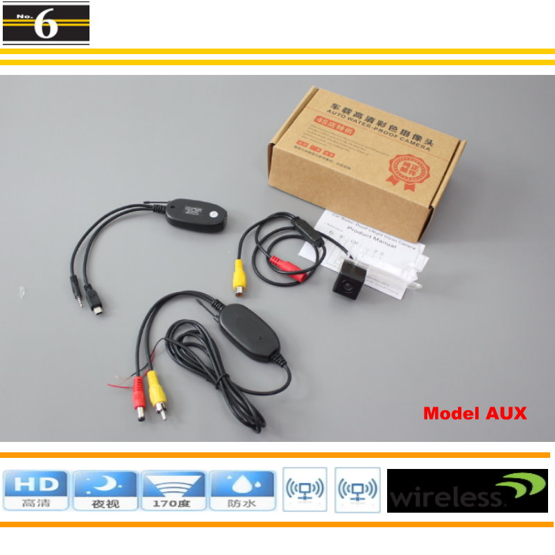 Volkswagen VW Passat B7 Wagon / DIY Plug & Play Wireless Car Parking Camera Rear HD Night Vision - Peng MaMa Store store