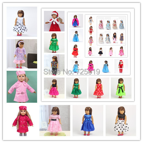 Free shipping!!! hot 2014 new style Popular 18 inches inches American girl doll clothes/dress b184<br><br>Aliexpress