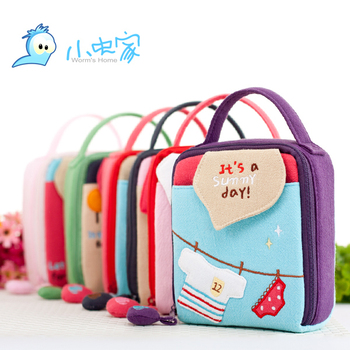 Hot-selling Kawaii Bag Cartoon Style  Candy Color Camera Bag or Ladies' Cosmetic Storage