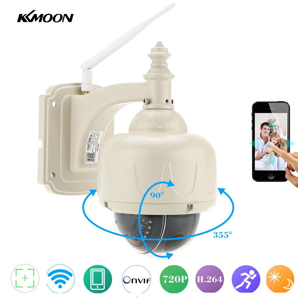 KKMOON 720P Wireless WiFi IP Camera Outdoor PTZ 2.8-12mm Auto-focus Waterproof H.264 HD CCTV Security Camera Wifi Night Vision(China (Mainland))