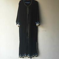 Printing robes Muslim gown