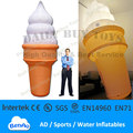 DC07 Hot  13 4m Inflatable Lighted Ice Cream Balloon Advertising Promotion Repair Kits Blower Light