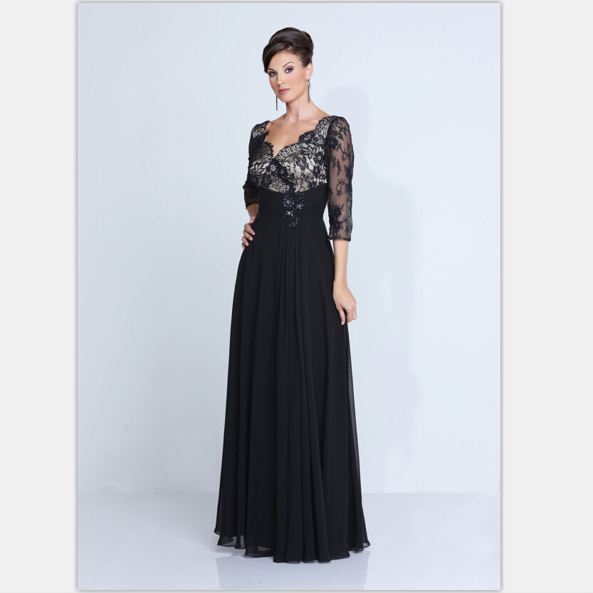 mother bride dresses chiffon sleeves wedding guest