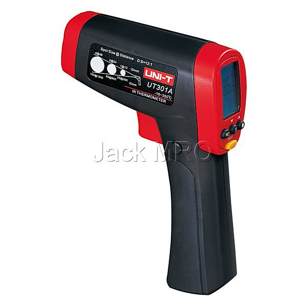 UNI-T UT301A Infrared Thermometers UT-301A Non Contact IR Laser Infrared Digital Thermometer 12:1(China (Mainland))