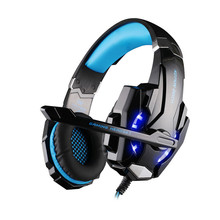 EACH G9000 3.5mm PC Gaming Headphone Headband Headset Casque audio with Mic LED Light for Laptop Mobile Phones/Xbox ONE/PS3 PS4