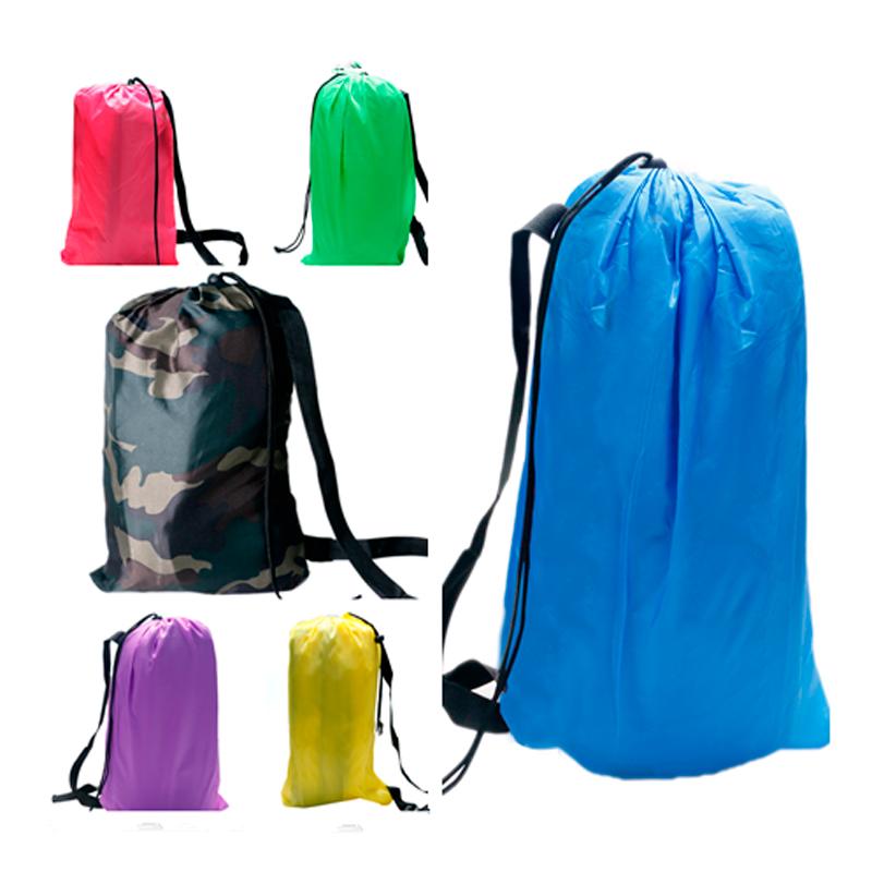 Hot Sale Camping Sleeping Bags Fast Inflatable Sofa Portable Hiking Bed Banana Outdoor Sleep Bag Beach Laying Air Beds Chairs(China (Mainland))