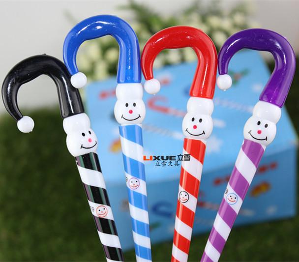 Korean stationery clown hat Christmas snowman ballpoint pen Japan and South Korea cartoon umbrella funny expression 019 LX<br><br>Aliexpress