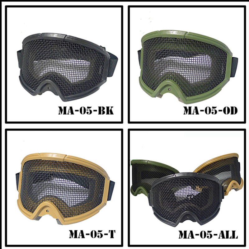 Popular Mesh Airsoft Glasses-Buy Cheap Mesh Airsoft ...