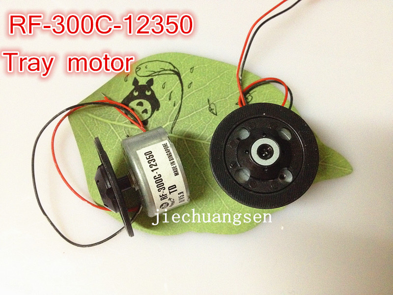 1X CD DVD MOTOR 5.9V tray motor spindle motor RF300 RF-300C-12350 DV34 Mechanism with Disk Holder Tray(China (Mainland))