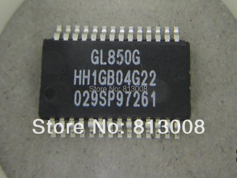 Free Ship 10PCS GL850G GL850G-HHGXX GL850G-HHG GL850 SSOP28 HUB USB2.0 100% New Original guniune IC distributor KIT On Sale 5%(China (Mainland))