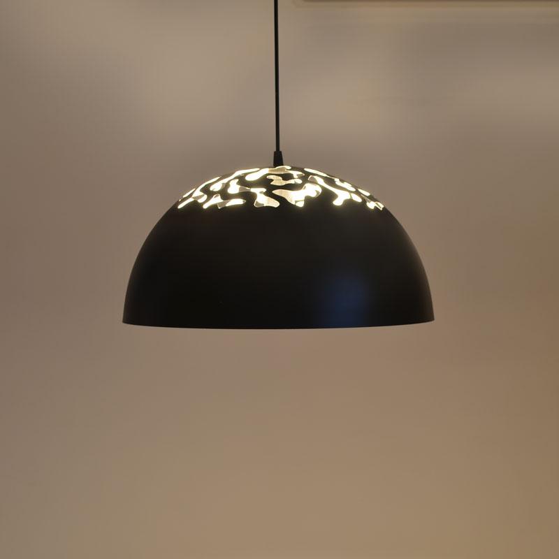 wrought iron pendant light black bar lamps modern brief fashion. Black Bedroom Furniture Sets. Home Design Ideas