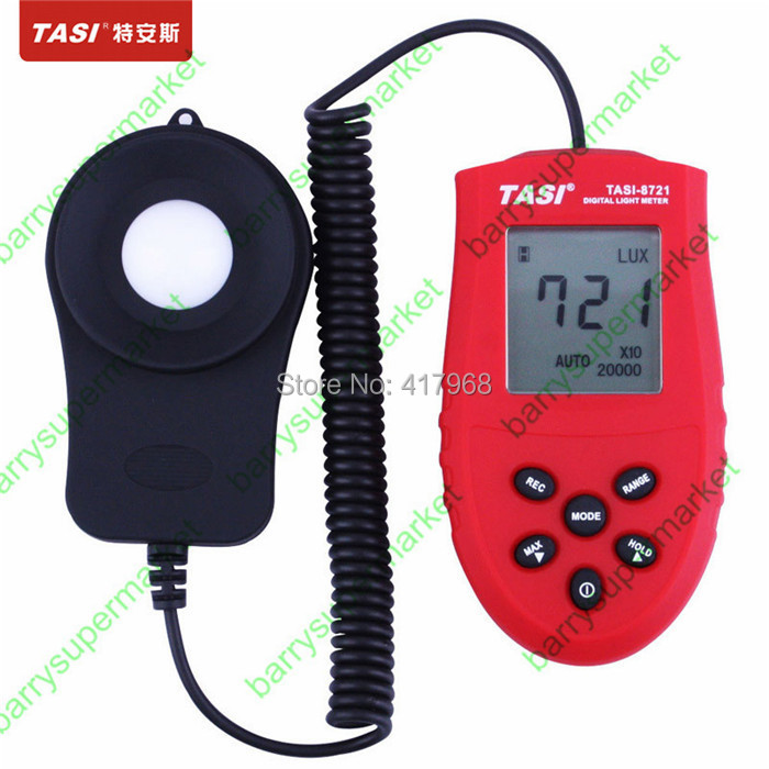 FREE SHIPPING+TASI-8721 Digital Light Meter 1 ~ 200,000 LUX light intensity measuring indoor and outdoor+HOT SELL<br><br>Aliexpress