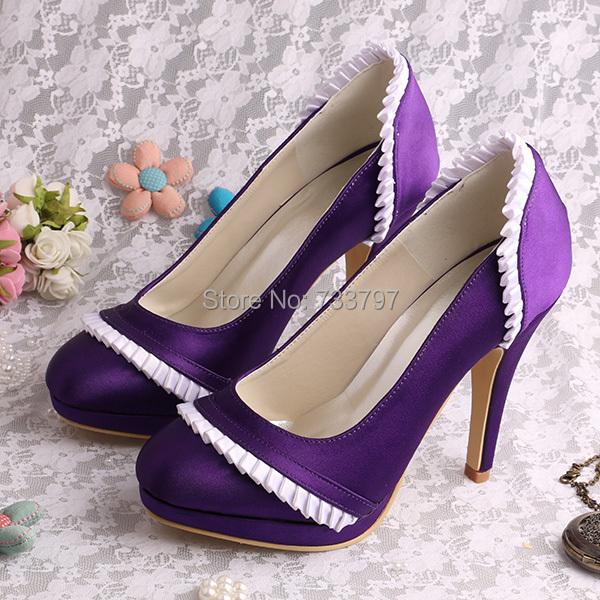 Magic Bride Brand 11 CM Heel with Platform Wedding Shoes Round Toe Free Shipping<br><br>Aliexpress