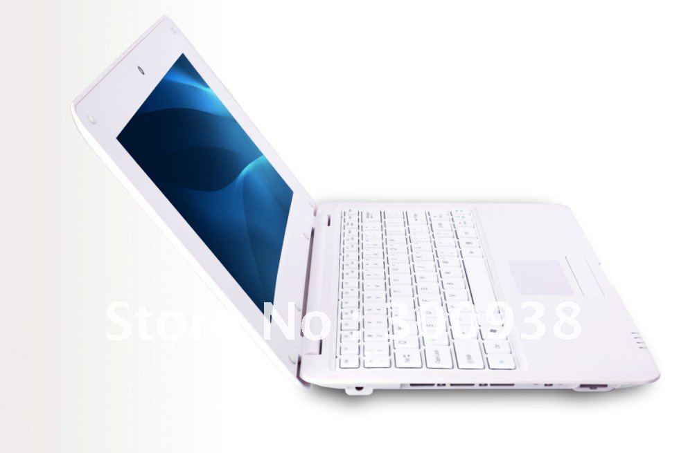 Free shipping 10 Inch EPC Mini Laptop With VIA8850 1.5Ghz Processor 1GB RAM 4GB ROM Android 4.0 or WINCE6.0 OS 0.3MP Webcam(Hong Kong)