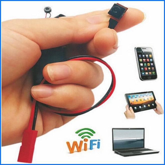 Hot Sell !! Mini Wireless Spy Wifi Camera P2P IP Micro Secret Camcorders DVR Cam Spy Covert Candid Video Camera Espia(China (Mainland))