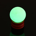 Green Luminous Stone 35mm Natural Glowing Stone Calcite Glow in the Dark Luminous Crystal Ball With