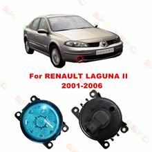 RENAULT LAGUNA 2/II 2001/02/03/04/05/06 car styling led fog lamps Refit blue FOG LIGHTS DRL 12V - E-J Fifi AUTO store
