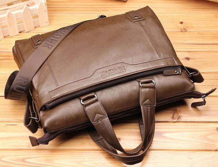 2014 Fashion Vintage Handbag High Quality Business Genuine Leather Handbag Mens Bag Messager Leather Bags Man Computer Bag<br><br>Aliexpress