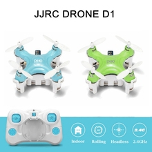 Mini Drones JJRC DHD D1 2.4GHz 4CH Quadcopter Headless Mode 6 Axis Gyro RC Helicopter Blue and Green Colors for Sale