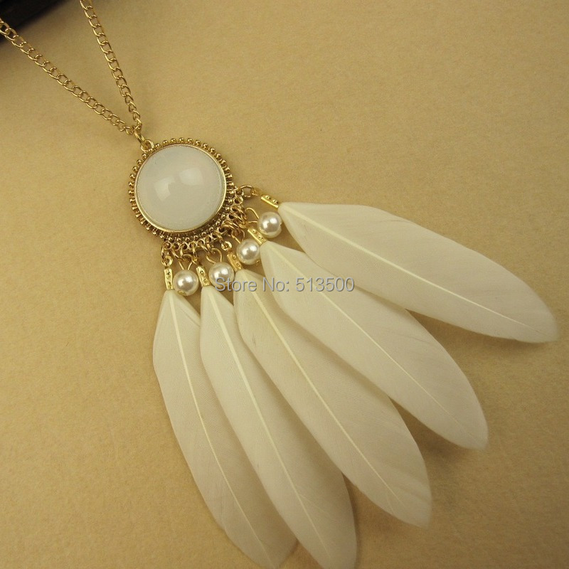 Fashion Style Native American Feather Necklaces of Dream Catcher Whosale Price Cheap(China (Mainland))
