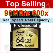 Brand SD Card 16gb 32GB 64GB SD Card 600x 90mb/s Flash Memory Card Class 10 SDXC SDHC UHS-I Digital Camera Card
