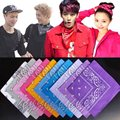 1PC 56cm x 56cm Hair Styling Unisex Cotton Paisley Bandana Headwear Hair Band Scarf Neck Wrist