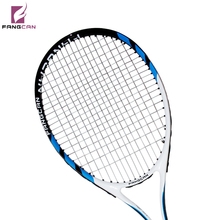 FANGCAN SUPER A8 Carbon Aluminum Composite Tennis Racket Blue Color With String and Within Full Cover(China (Mainland))