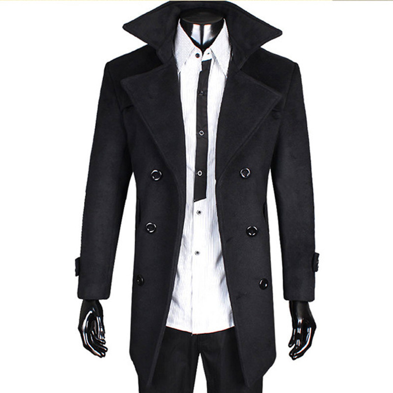 Trench Coats For Men Photo Album - Reikian