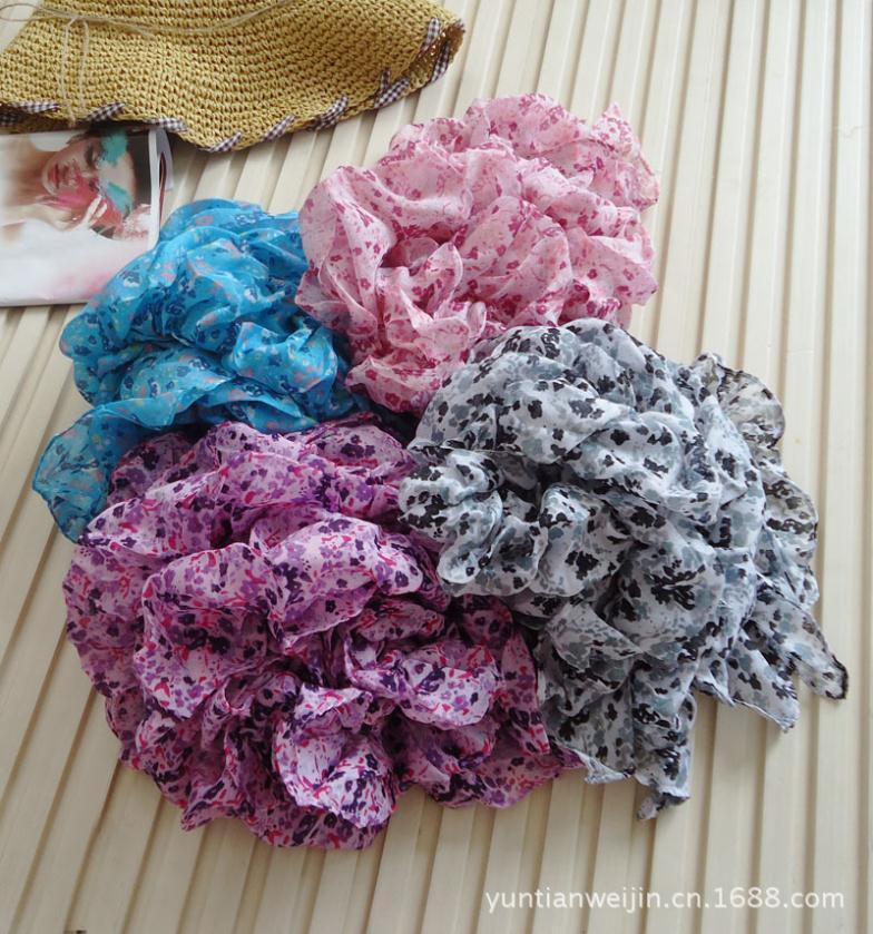 Crushed casual fungus scarf stock(China (Mainland))