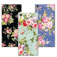 Buy Luxury Floral Painted Case Sony Xperia XA1 Case Cover Soft Silicone funda Sony XA1 G3112 G3116 G3121 G3123 5 inch+Gift for $1.35 in AliExpress store