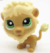 LPS quality cute toys Lovely Pet shop animal golden lion #1576 action figure littlest doll
