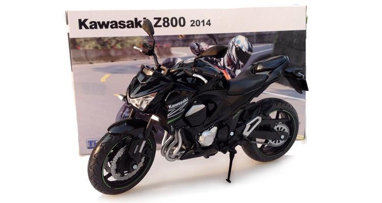 Free Shipping Motorcycle Model Kawasaki Z800 Diecast Metal Motorcycle Toys For Kids Children(China (Mainland))